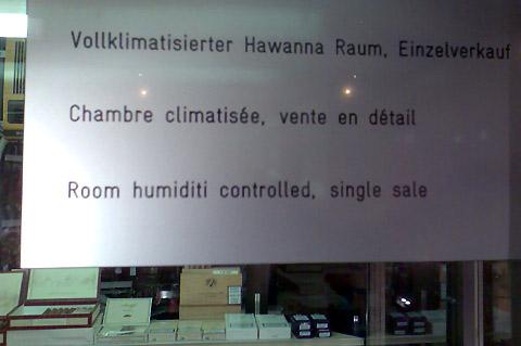 Humiditi Hawanna!