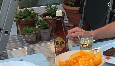 Privat importiertes Lemon and Paeroa in Bern - welch ein Fest!