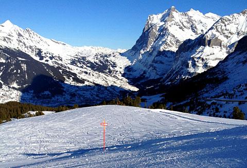 Grindelwald, 16. Januar 2012