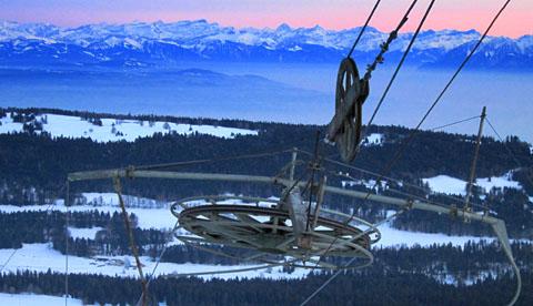 Skitag im Jura, 18. Januar 2012