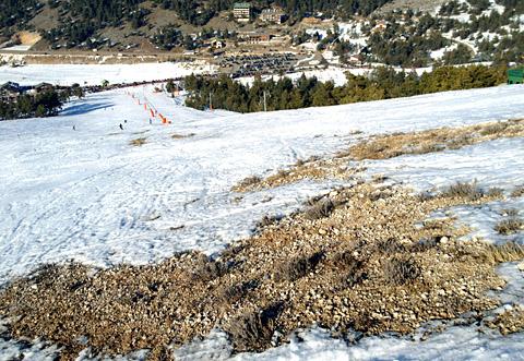 Gréolières-les-Neiges, 27. Februar 2012