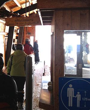 Sesselbahn Eisee, 29.2.2012