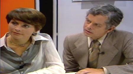 Erste Sendung des Coop Mittwoch-Studio, 1977 (Quelle: Screenshot von http://www.coopzeitung.ch/3236164#y1977e2