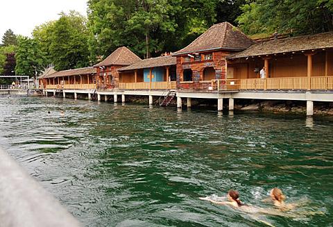 Genuine Urban Swimming: Unterer Letten, Zürich
