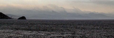 Savona und die ligurische Küste in einem Herbststurm, 29. September 2012