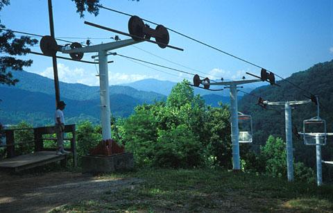 Sessellift in Cherokee, North Carolina, 1993