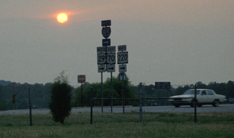 Irgendwo zwischen North Carolina und Delaware, Juni 1993