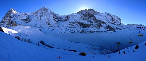 Kleine Scheidegg, 25. Januar 2013