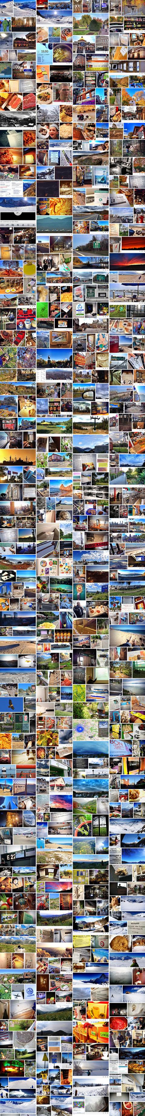 Das war 2013 - die vertwitterten Bilder des Jahres als bunt gemischte Collage
