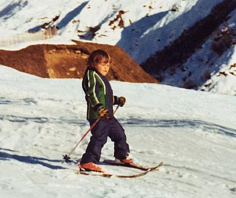 Erster Skitag, Frühling 1975