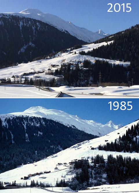 Sedrun 1985-2015 / Klicken für grosse Fassung